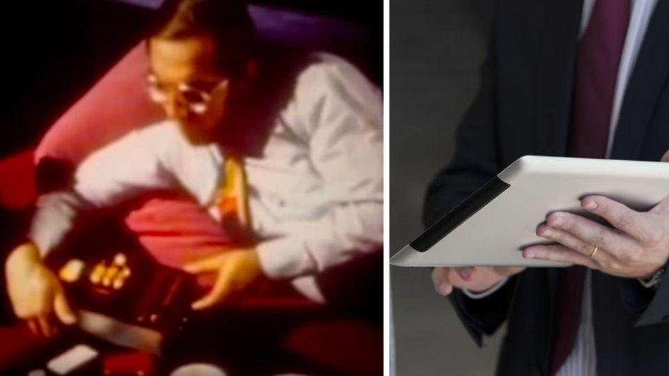 """Zukunftsvision: Aus dem """"drahtlosen Haushaltsschaltpult"""" wurde das Tablet"""