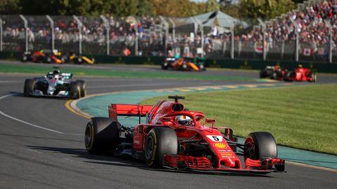 Sebastian Vettel hat das erste Rennen der neuen Formel-1-Saison gewonnen