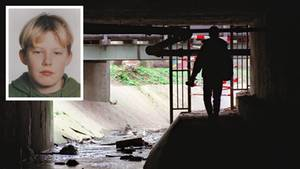 Fundort der Leiche Tristan Brübachs in einer Unterführung in Frankfurt