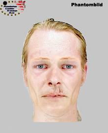 Das Phantombild des Verdächtigen im Fall Tristan