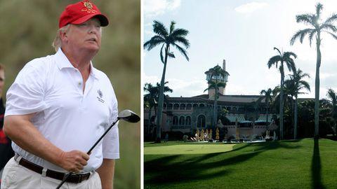 Donald Trump: Spione in Mar-a-Lago: Warum Trumps Lebensstil ein Sicherheits-Alptraum ist