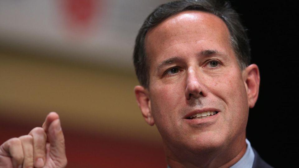 Waffengesetze - Rick Santorum - Schüler - Parkland Shooting