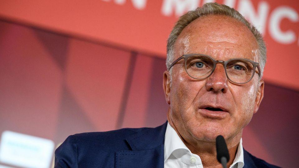 Karl-Heinz Rummenigge vom FC Bayern - Rundumschlag gegen die Bundesliga im Kicker