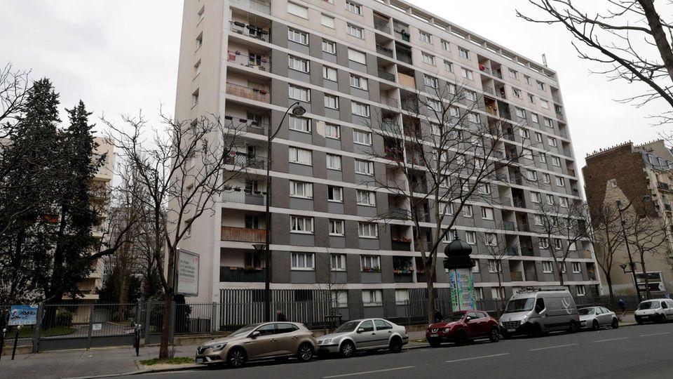 In diesem Haus in Paris fiel die 85-jährige Jüdin Mireille Knoll wohl einem Mord zum Opfer