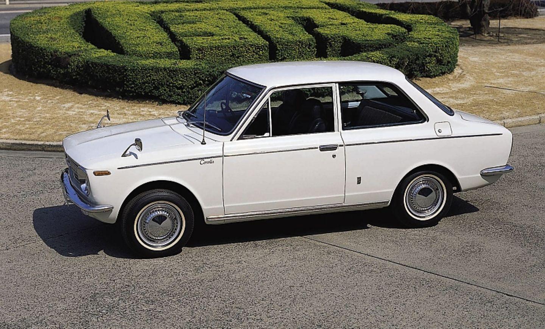 Mit dem Toyota Corolla E10 begann 1966 die Erfolgsgeschichte