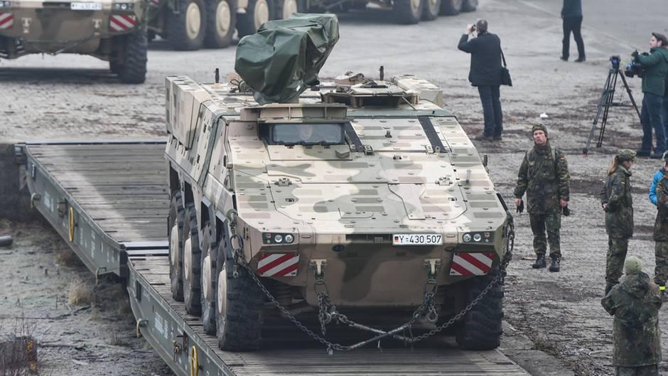 Rheinmetall-Panzer vom Typ Boxer