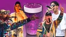 Vier Rapper aus Deutschland, die allesamt Codein in ihren Texten zum Thema machen