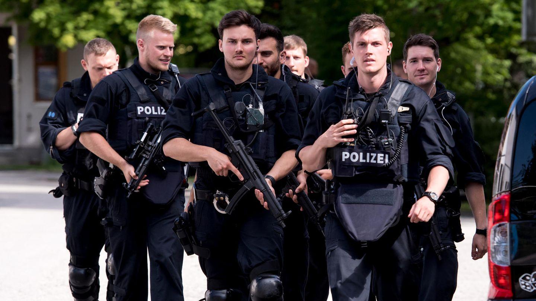 Polizisten in Bayern