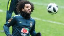 Marcelo und Brasilien dürften bei der WM in Russland kein tragisches Ende wie 2014 beim 1:7 gegen Deutschland erleben