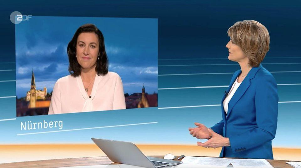 Moderatorin Marietta Slomka Cool Kritisch Und Unerschrocken Stern De