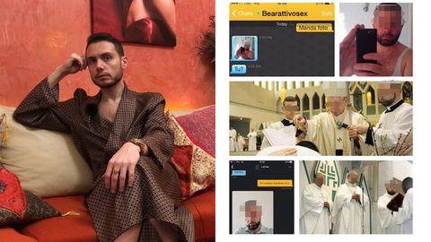Francesco Mangiacapra: Dieser Mann ist Callboy. Er hatte Sex mit katholischen Priestern. Warum er sie nun outete