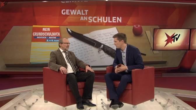 Heinz-Peter Meidinger und Steffen Hallaschka: stern TV-Studiogespräch über Gewalt an Deutschlands Schulen