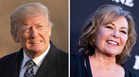 Donald Trump Roseanne