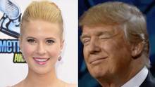 Die 22-jährige Schauspielerin Caroline Sunshine ist seit Ende März Presseassistentin in Donald Trumps Team.