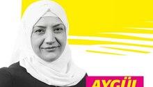 Mit diesem Plakat macht die FDP-Politikerin Aygül Kilic Wahlwerbung in Neumünster