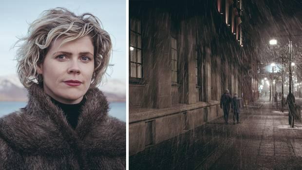 Island Mädchen einfach