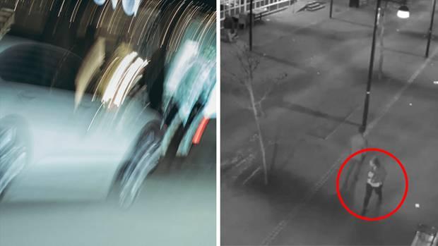 Es gab keine Spur der jungen Frau. Nur die Bilder der Kameras, die sie gefilmt hatten, wie sie durch das verschwommene Neonlicht torkelte