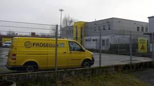 Geldtransporter der Firma Prosegur