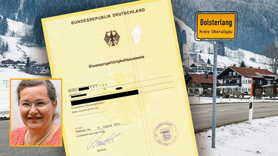 Bolsterlang im Allgäu: Radikale Reichsbürger spalten ein Dorf