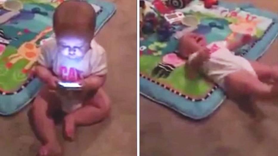 Handysucht bei Kleinkindern