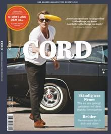 """Der Text stammt aus der aktuellen Ausgabe der Zeitschrift """"Cord"""""""