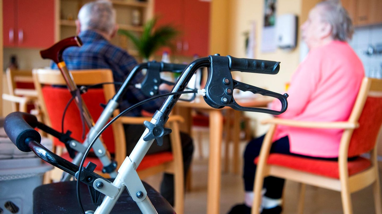 Altenpflege im Seniorenheim