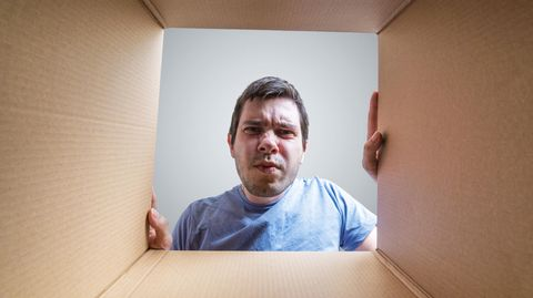 Paket verwunderung Online-Handel