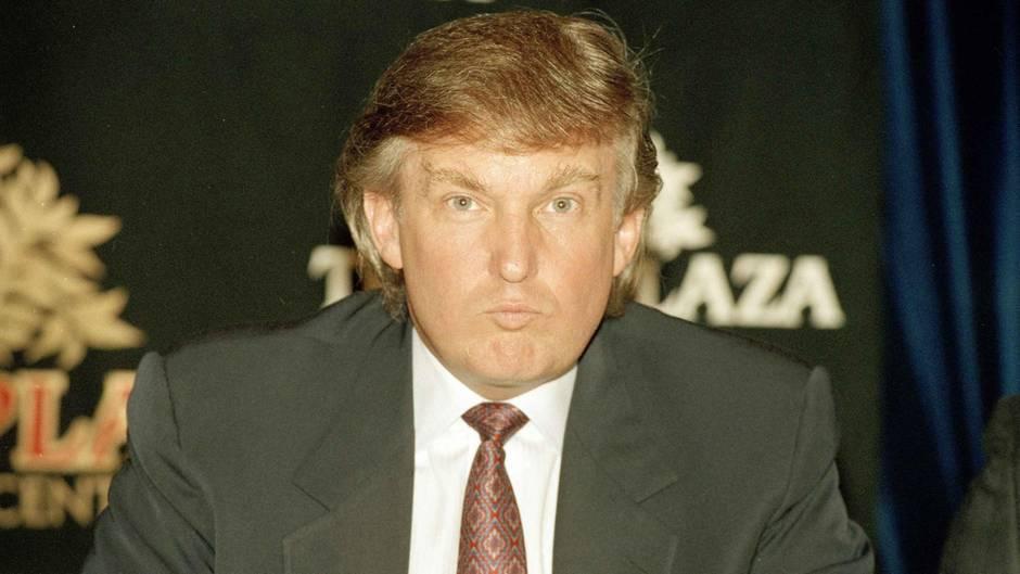 Donald Trump im Jahr 1991