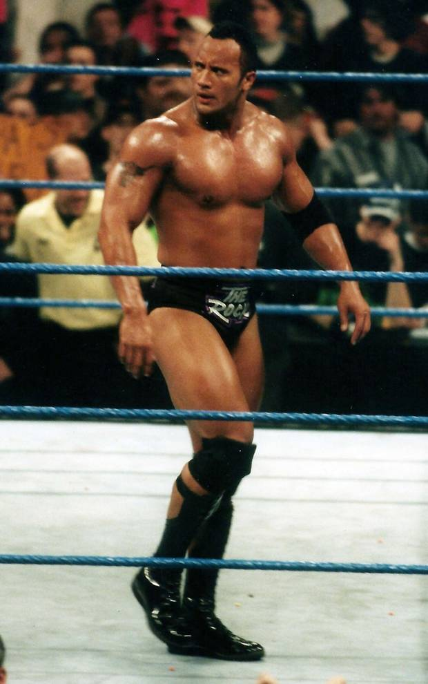 Dwayne The Rock Johnson als Wrestler