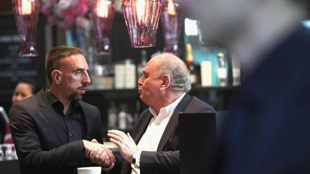 Uli Hoeneß Franck Ribéry