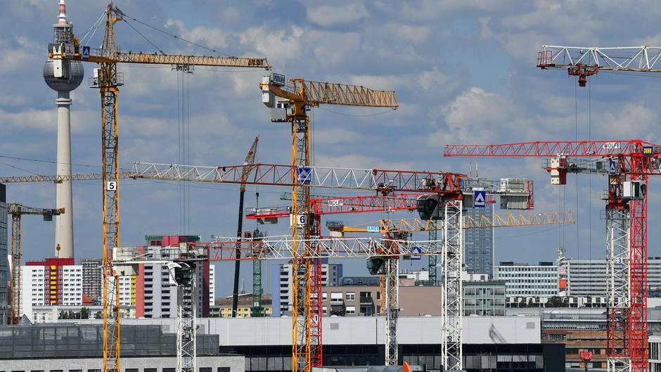 Bau-Boom in Deutschland wie hier in Berlin: Investoren bleiben häufig im Dunkeln