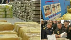 Rekord-Drogen-Fund in Thailand