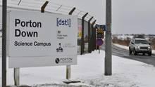 Blick auf die Forschungsanstalt Porton Down - Hier wurde das im Fall Skripal verwendete Nervengift untersucht
