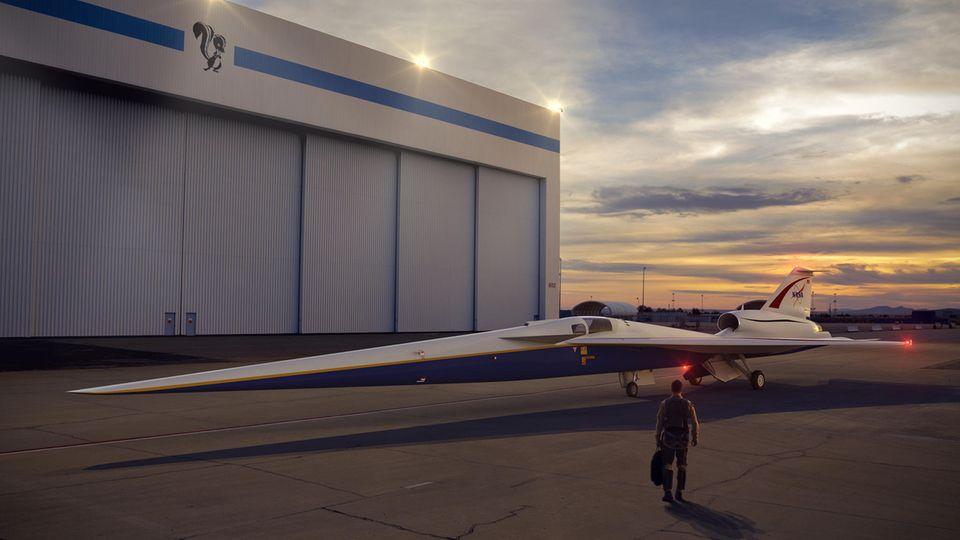 Computerrendering des X-Plane, der ab 2021 die Schallmauer durchbrechen soll