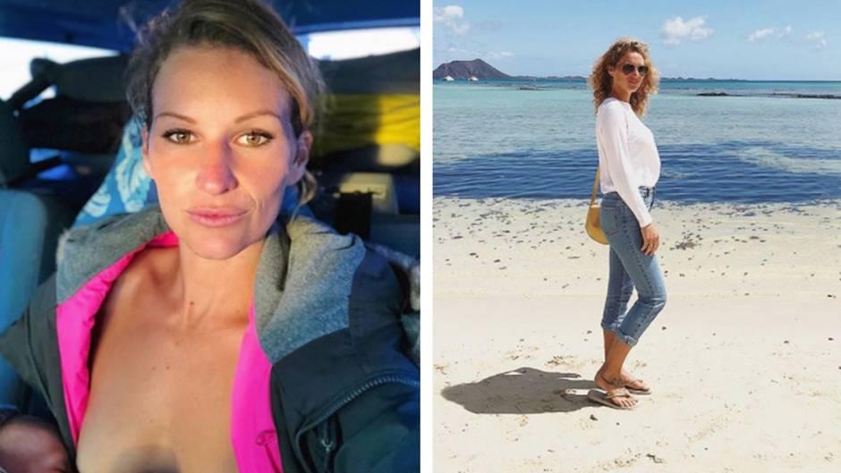 Surferin und Reality-TV-Star: Janni Hönscheid erntet Shitstorm für Still-Foto