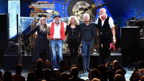 """Die britisch-amerikanische Band Fleetwood Mac sind mit ihrem 40 Jahre alten Hit """"Dreams"""" wieder in den Charts"""