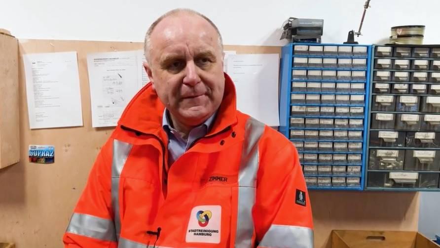 Recyclinghof-Leiter Dirk Zimmer: Wie bekommen wir eine gute Wertstofftrennung in der Gesellschaft hin?