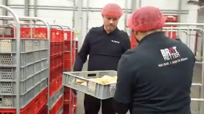 Kooperation der Bäckerei Junge: Gegen Verschwendung: Zu Besuch bei den Hamburger Brotrettern