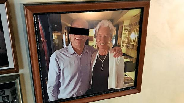 Promi-Italiener Luigi L., hier mit Währungsfonds-Chefin Lagarde, sollte Mafiawein kaufen