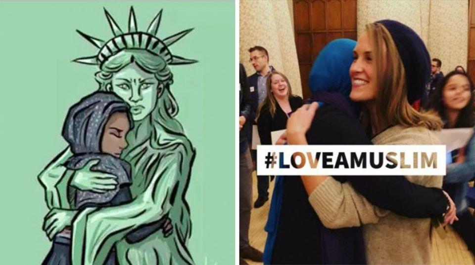 Love A Muslim Day: Mit Liebe gegen Hass-Aktion