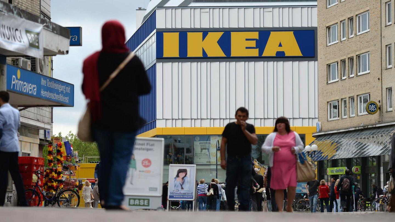 Ikea in Hamburg Altona