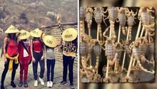 Heidi Klum macht Urlaub in China - ein von ihr gepostetes Foto mit toten Insekten bringt ihr Kritik ein