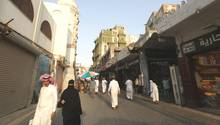 Straßenszene in Dschidda