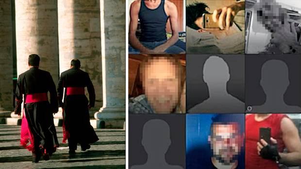 Einblicke in eine verlogene Welt: Mit Screenshots der Profile von Priestern auf schwulen Datingseiten belegte Mangiacapra seine Vorwürfe