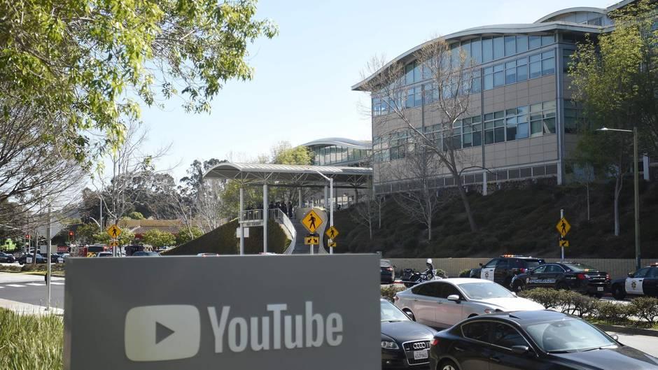 Youtube Attentat Schützin Wurde In Der Nähe Der Google Zentrale