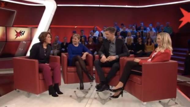 Studiogespräch: Live bei stern TV diskutierten zum §219a Dr. Silke Launert (CSU), Katharina Schulze (Grüne) und Frauenärztin Nora Szász