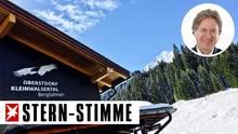 Die Bergbahnen Oberstdorf-Kleinwalsertal haben neuerdings den Adler im Logo