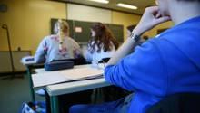 Unterricht in einer Schule (Symbolbild)