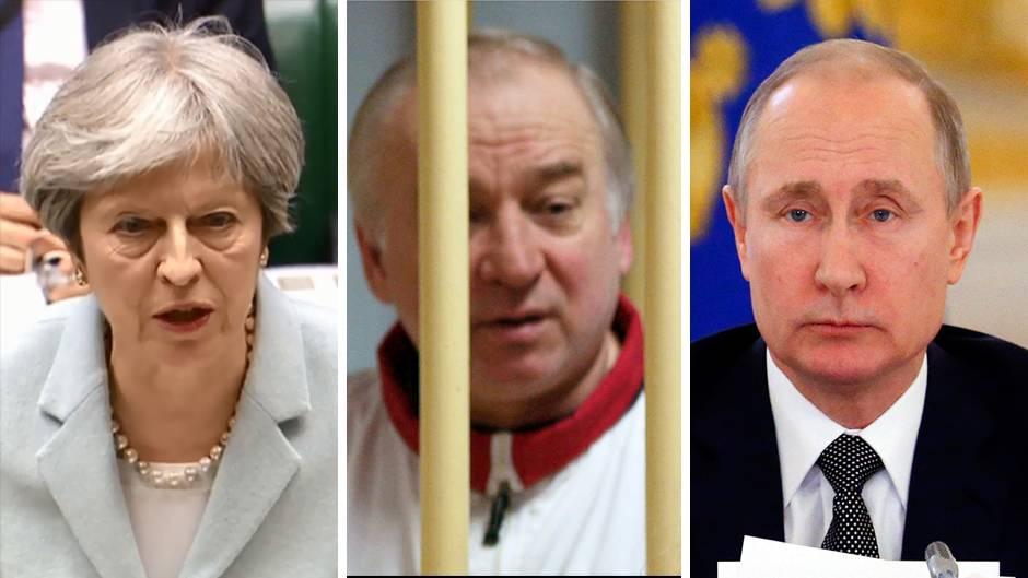 Chronik: Die Skripal-Affäre - Ist Russland Täter oder Opfer?