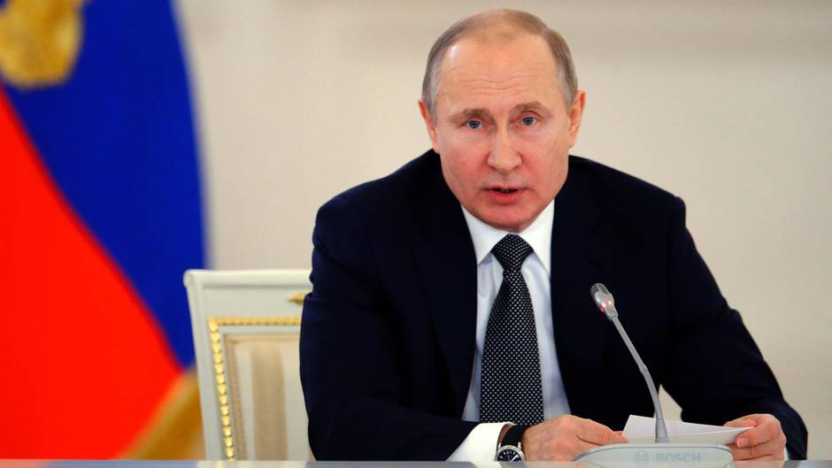 Wladimir Putin Sanktionen